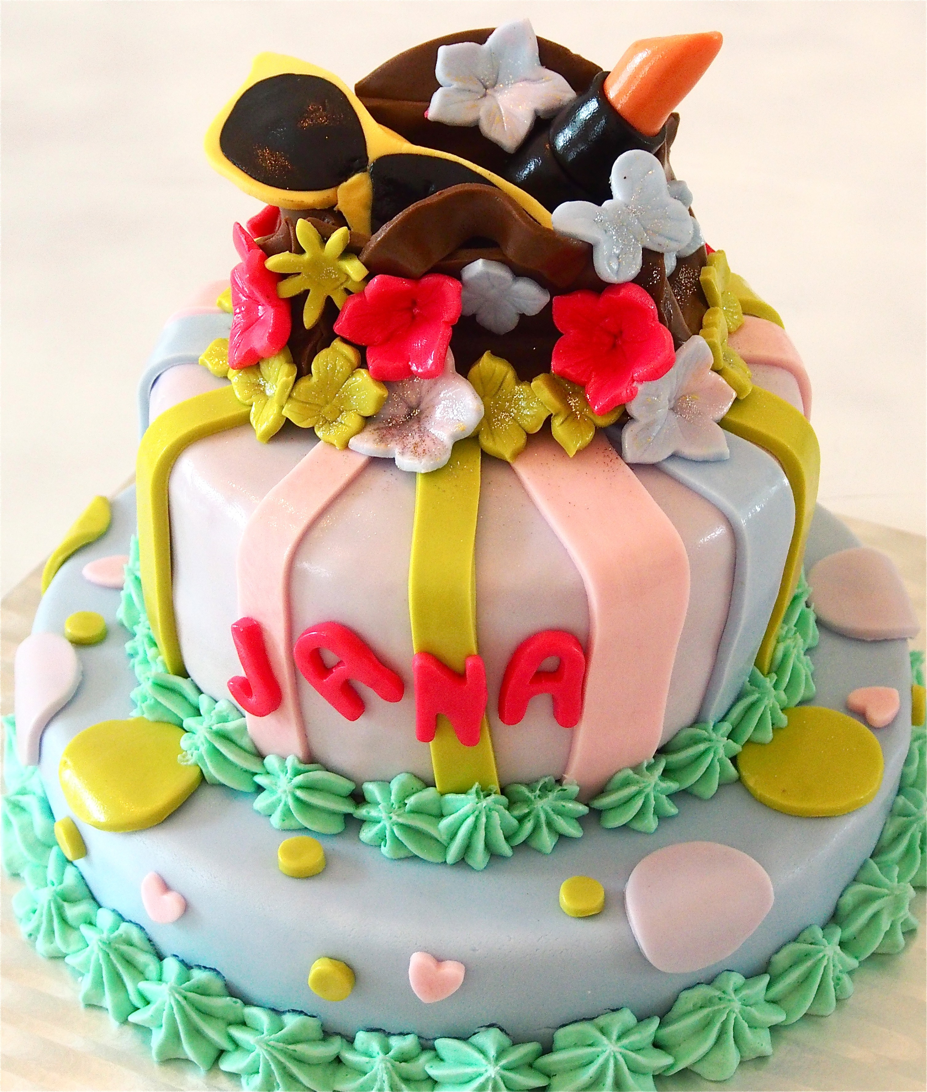 Millefeuille Happy Birthday Jana